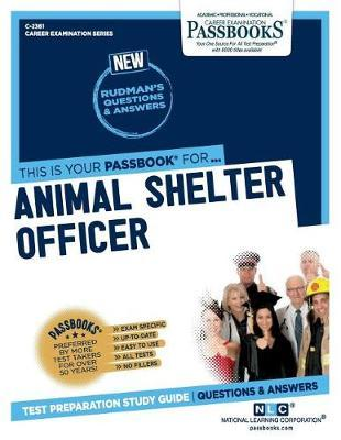 Animal Shelter Officer by National Learning Corporation image