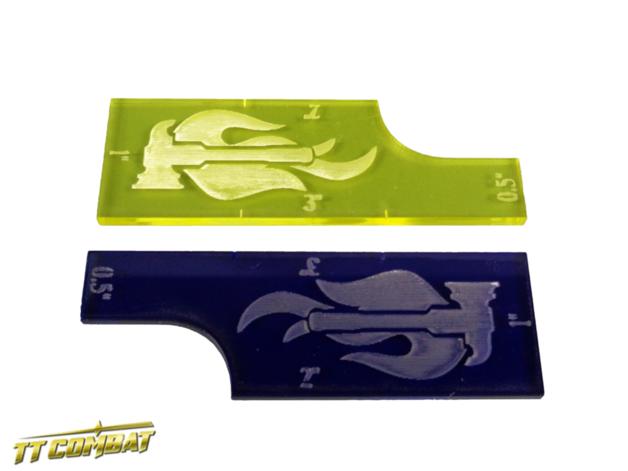 TTCombat: Movement Widgets - Hammers (Yellow/Navy)