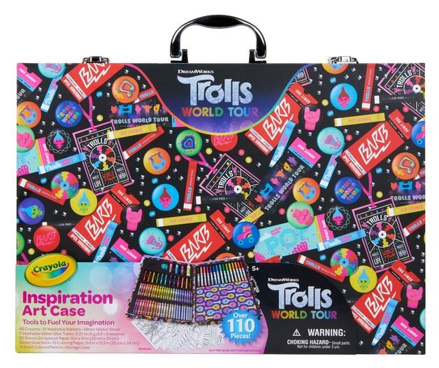 Crayola: Trolls 2 - Inspiration Art Case