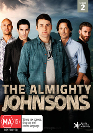 The Almighty Johnsons - Series 2 on DVD