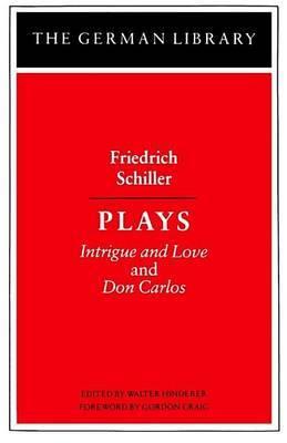 Plays by Friedrich Schiller image