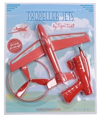 Tiger Tribe: Propeller Jet - Red