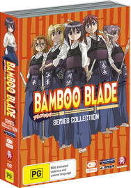 Bamboo Blade Series Collection (4 Disc Box Set) on DVD