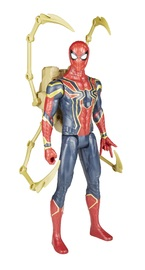 "Avengers Infinity War: Power FX Spider-Man - 12"" Titan Hero Figure"