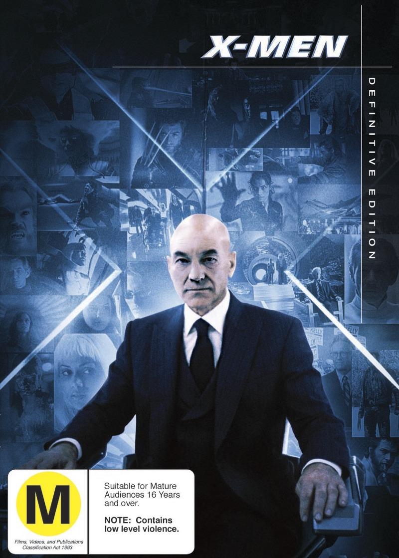 X-Men - Definitive Edition (2 Disc Set) on DVD image