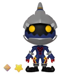 Kingdom Hearts III: Soldier Heartless - 5-Star Vinyl Figure