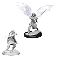 D&D Nolzurs Marvelous: Unpainted Miniatures - Female Aasimar Fighter