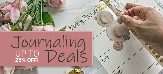 Journaling & Writing Sale!