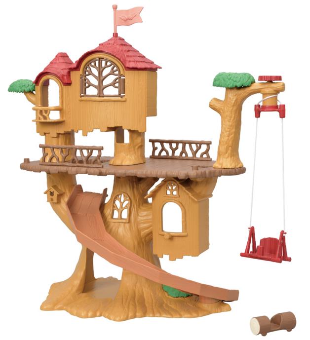 Sylvanian Families: Adventure Tree House - Playset