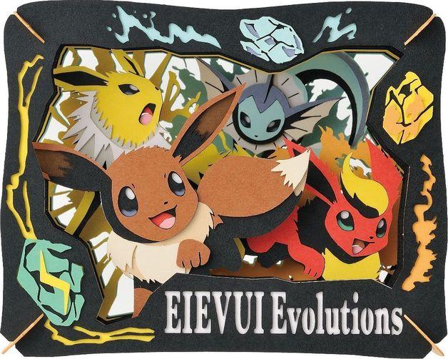Pokemon: Paper Theater: Eevee Evolutions
