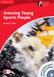 Amazing Young Sports People Level 1 Beginner/Elementary Book with CD-ROM and Audio CD Pack: Level 1 by Mandy Loader