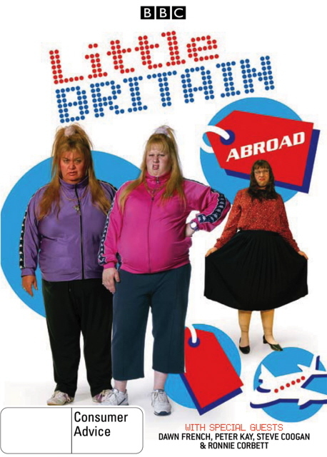 Little Britain - Abroad on DVD