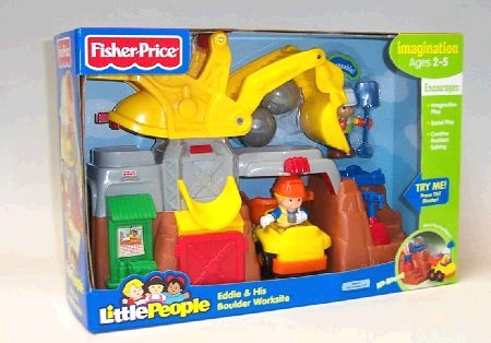 Fisher Price Eddies Boulder Worksite