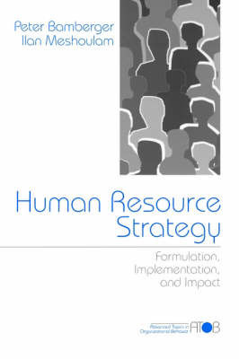 Human Resource Strategy by Peter A. Bamberger