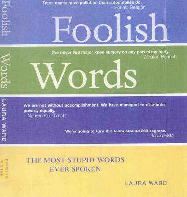 Foolish Words by Laura Ward
