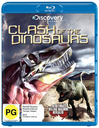 Clash of the Dinosaurs on Blu-ray