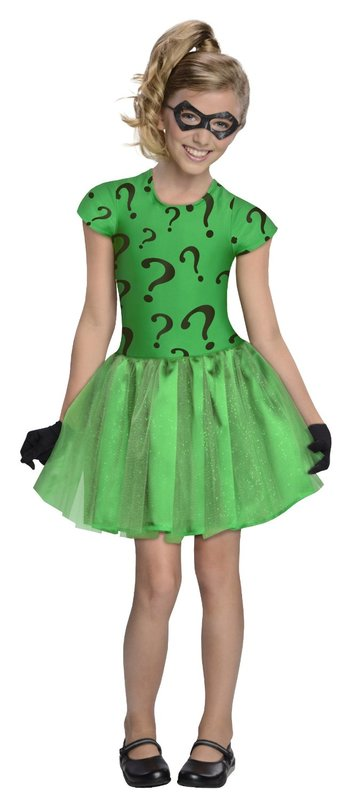 DC Comics: Riddler Tutu Costume - (Toddlers)