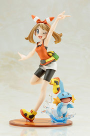 Pokemon: ARTFX-J 1/8 May & Mudkip - PVC Figure