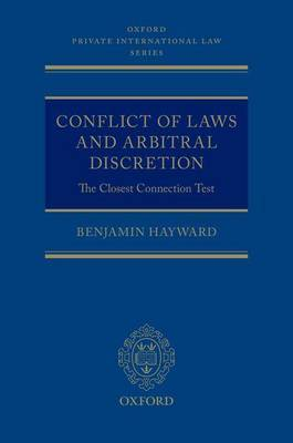 Conflict of Laws and Arbitral Discretion by Benjamin Hayward image
