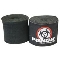 Punch: Urban Hand Wraps - 400cm (Black)
