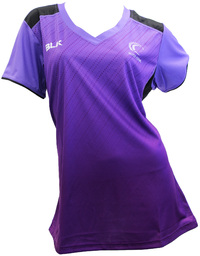 Silver Ferns Ladies Training Tee 2017 - Grape (Size 14)