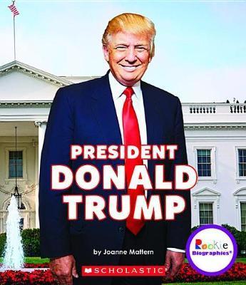 President Donald Trump by Joanne Mattern image