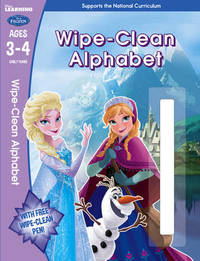 Frozen: Wipe-Clean Alphabet Ages 3-4 by Scholastic