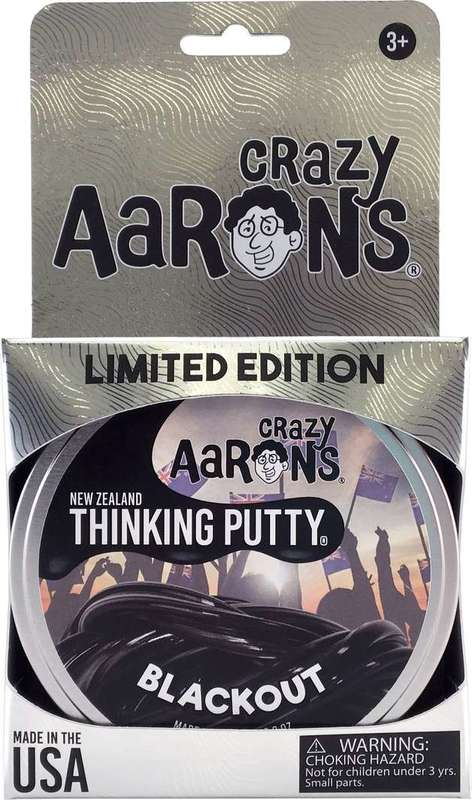 Crazy Aaron's Thinking Putty: Blackout New Zealand