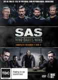 SAS: Who Dares Wins - Season 1-2 on DVD
