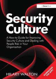 Security Culture by Hilary Walton image