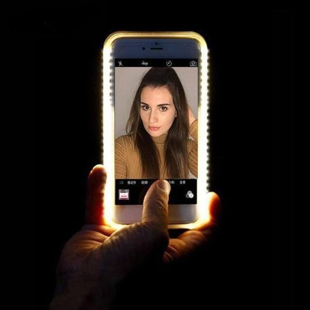 Mayhem LED Iphone 6 Case Rose Gold