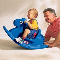 Little Tikes: Rocking Horse - Blue
