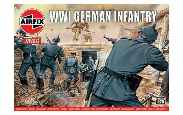 Airfix WWI German Infantry 1:76 - Model Kit