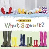 My First Maths: What Size Is It? by Jackie Walter