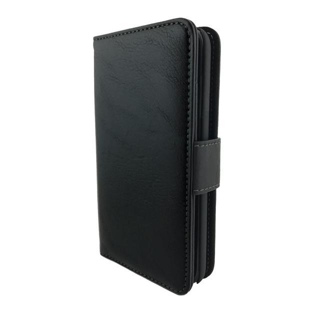NVS: Executive Wallet Folio Detachable Case For iPhone SE/5S/5 (Black)