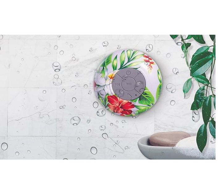 IS GIFT Wireless Shower Speaker - Tropical (Assorted) image