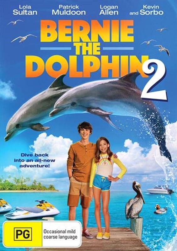 Bernie The Dolphin 2 on DVD