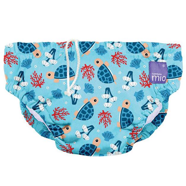 Bambino Mio: Swim Nappy - Turtle Bay (S/0-6 mths)