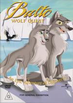 Balto - Wolf Quest on DVD
