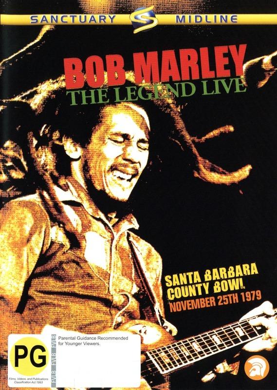 Bob Marley - The Legend: Live on DVD