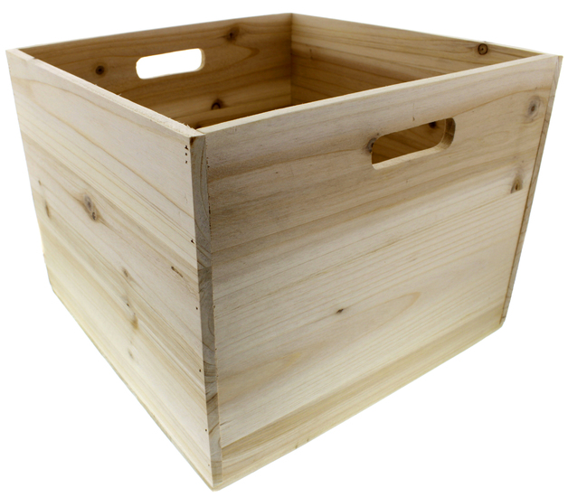 Wooden Vinyl Crate At Mighty Ape Australia