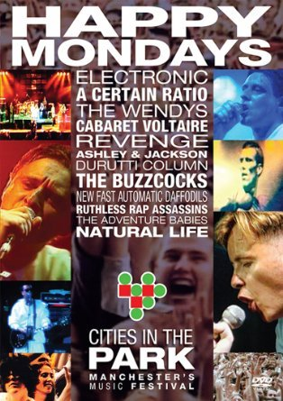 Happy Mondays & Friends At Cities In Park on DVD