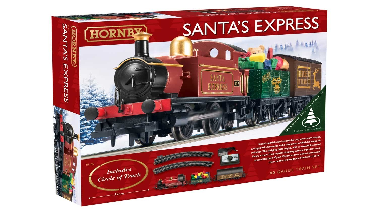 Hornby Santa\'s Express Christmas Train Set