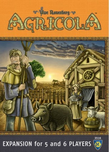 Agricola: 5-6 Player - Expansion Pack image