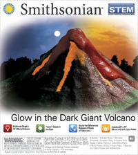 Smithsonian: Glow in the Dark - Giant Volcano Kit