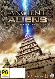 Ancient Aliens - Season Ten on DVD