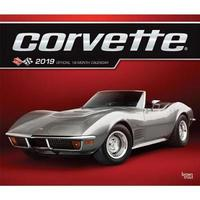 Corvette 2019 Deluxe Foil by Inc Browntrout Publishers
