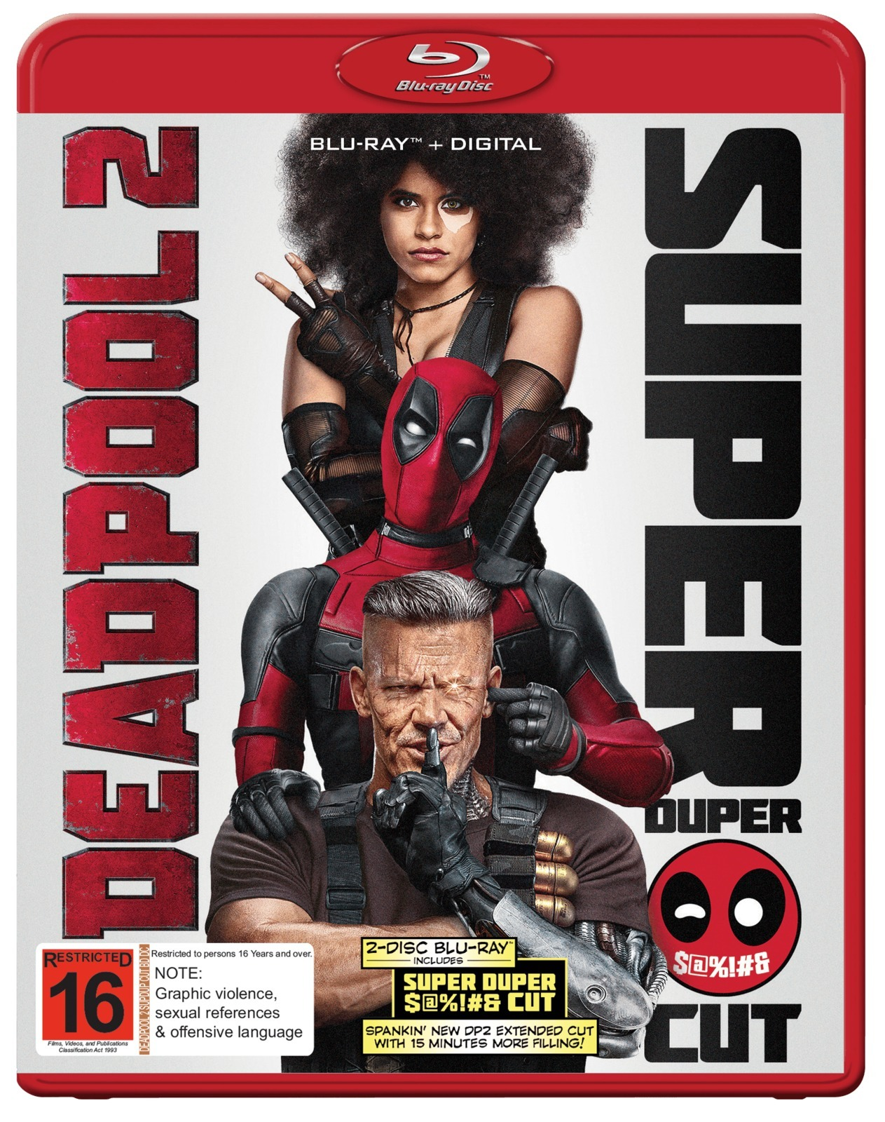 Deadpool 2 on Blu-ray, DC image