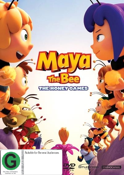 Maya The Bee: The Honey Games on DVD