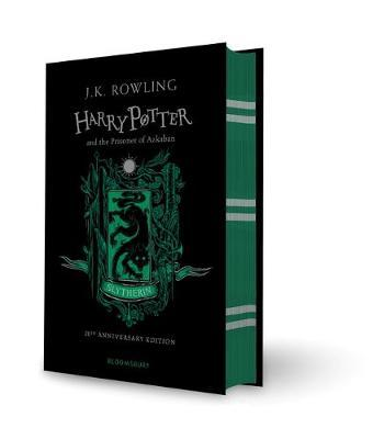 Harry Potter and the Prisoner of Azkaban – Slytherin Edition (Hardback) by J.K. Rowling image